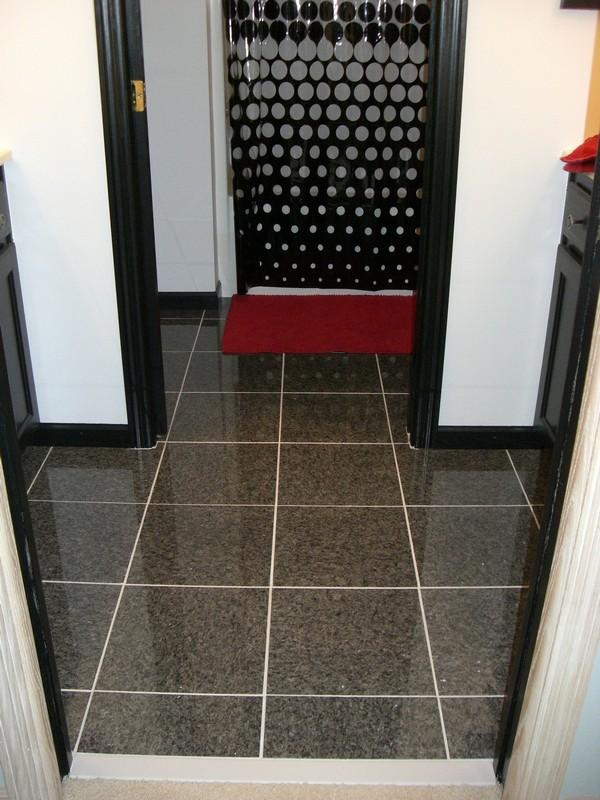 Bathroom Floor - After - Lakeville