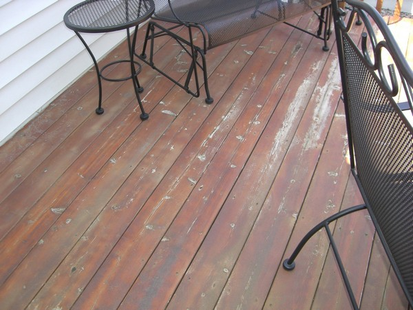Deck Flooring - Before - Savage