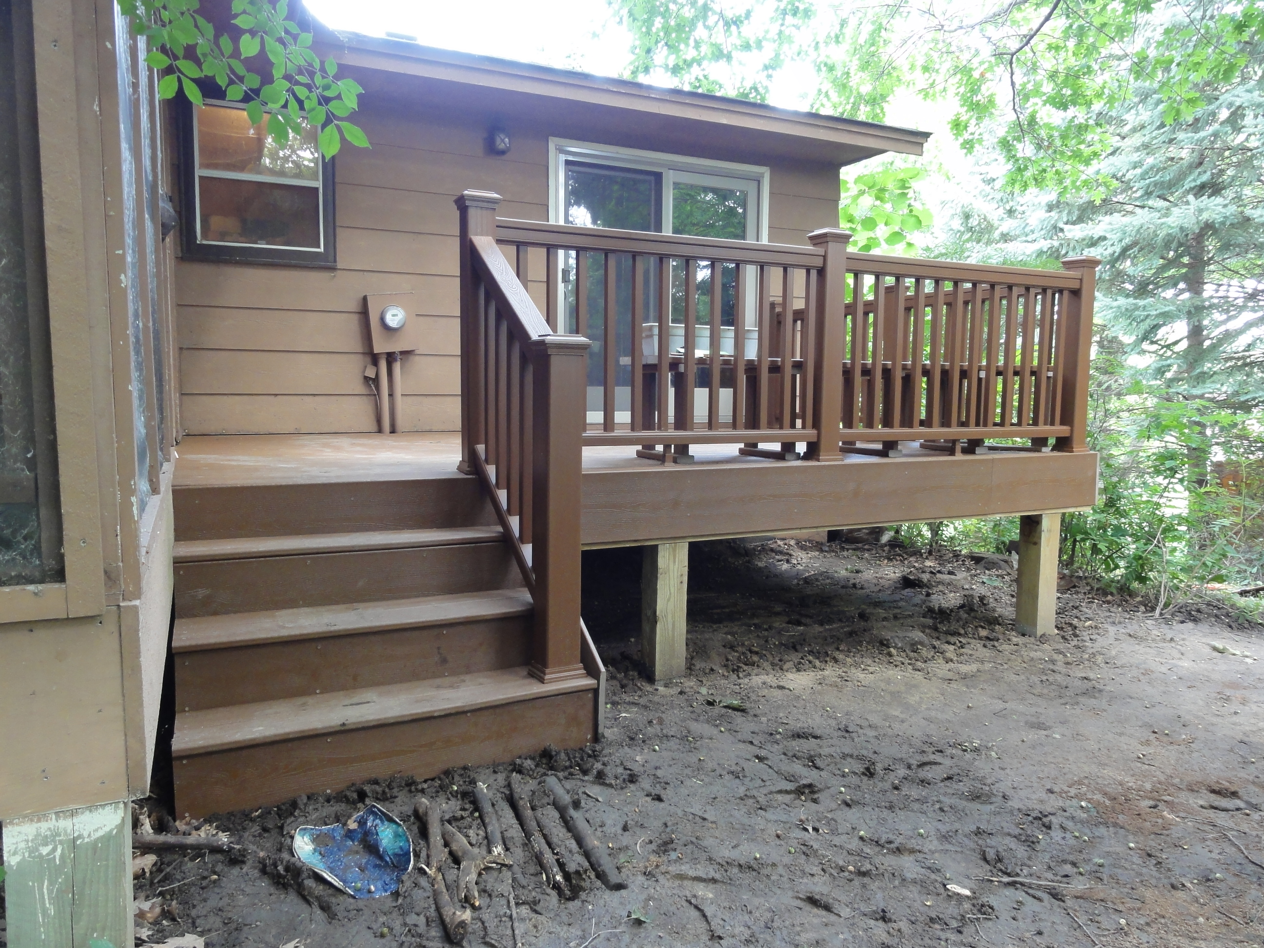 Deck - After - Prior Lake