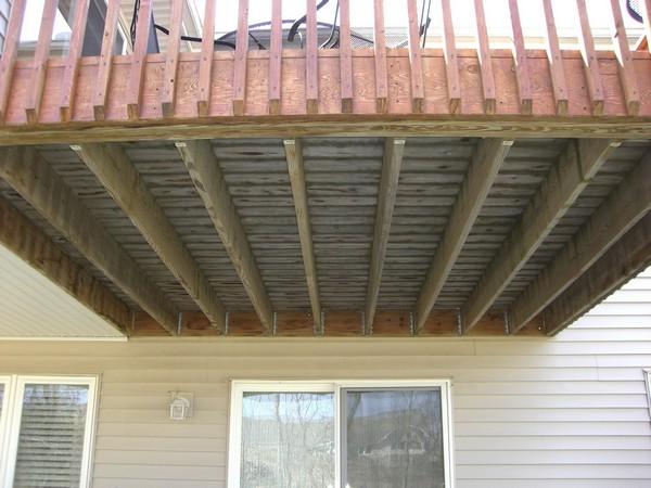 Deck Underneath - Before - Savage