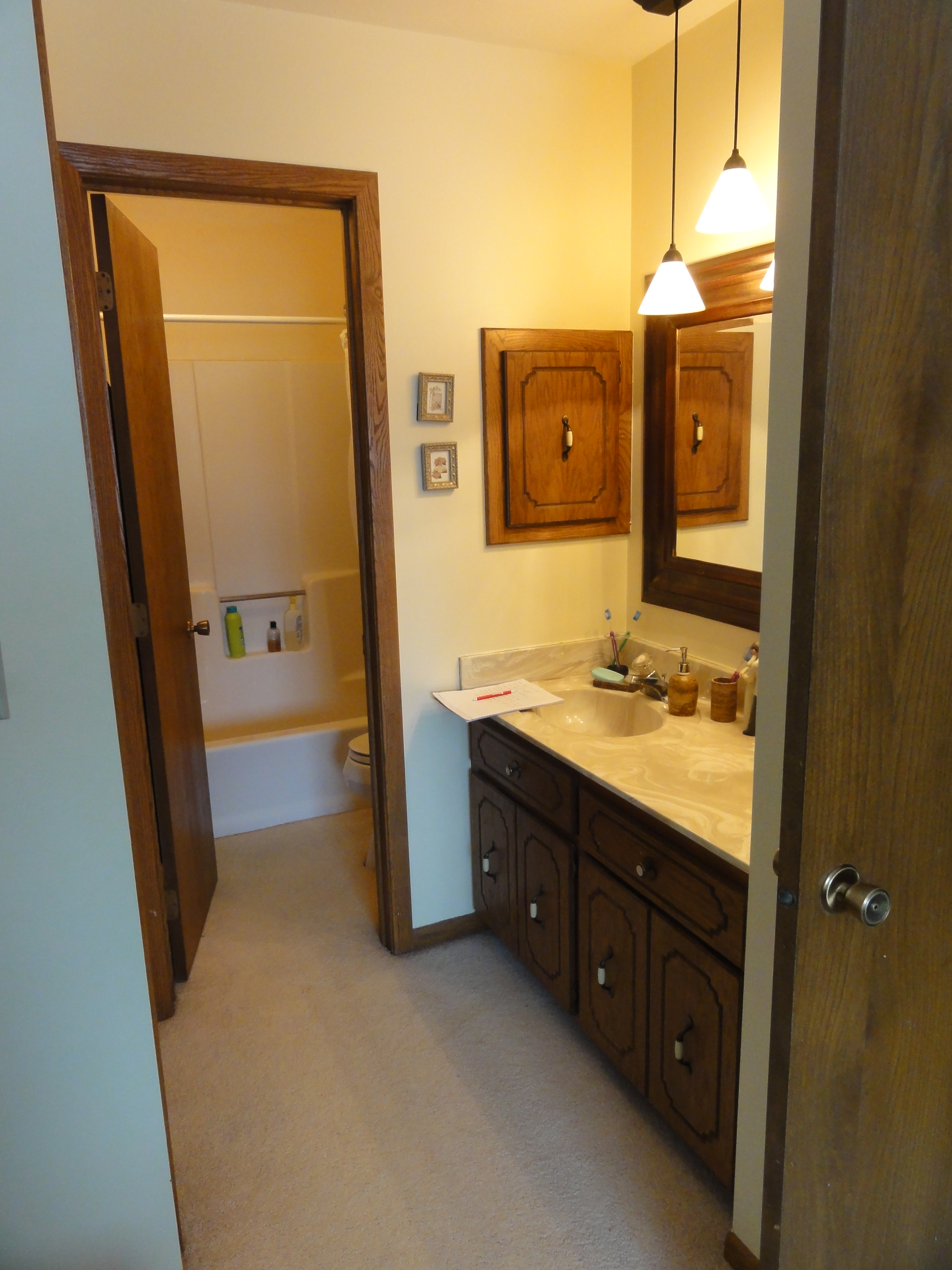 Bathroom Remodel - Before - Prior Lake