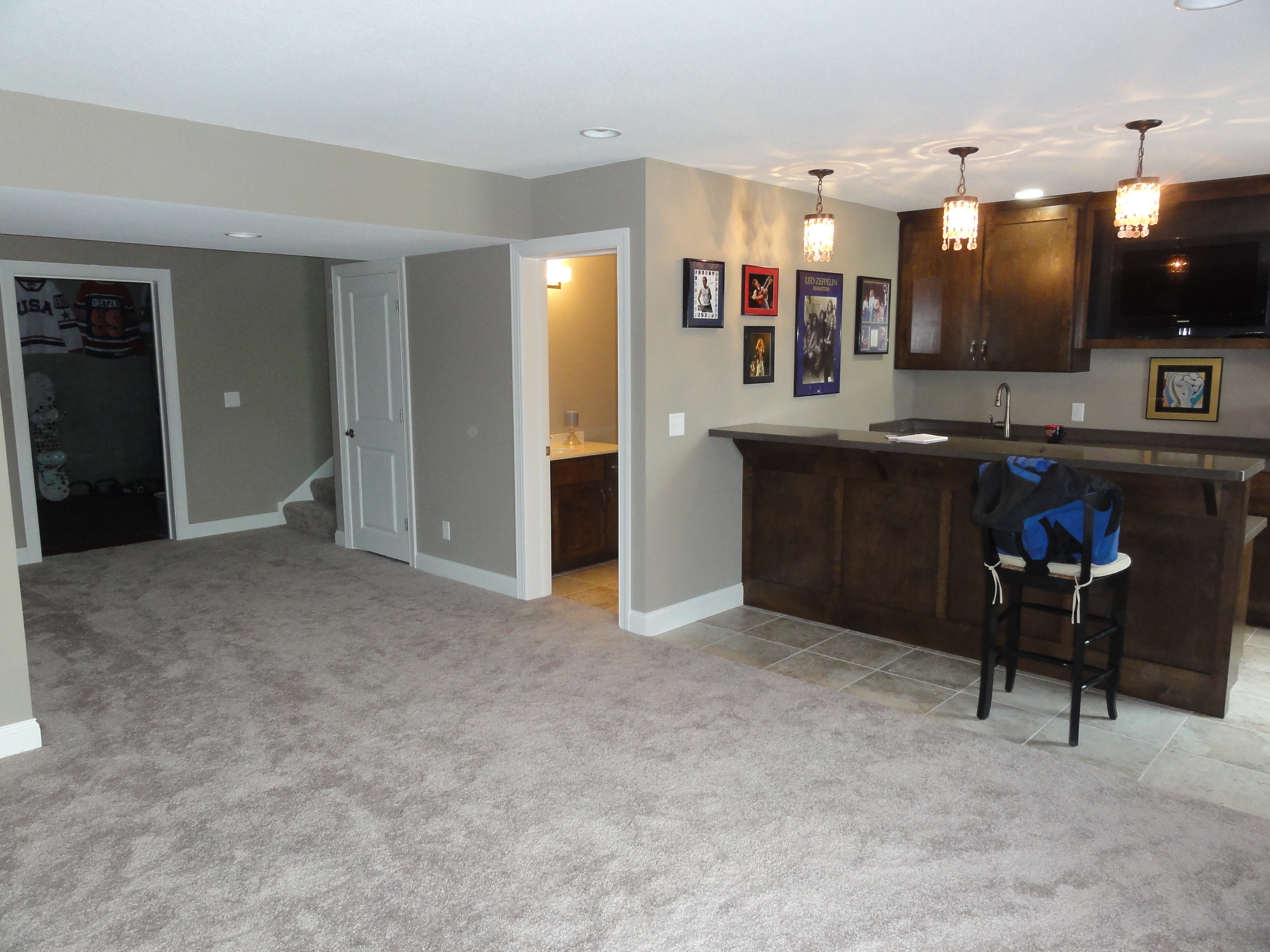Basement Finish - After - Lakeville