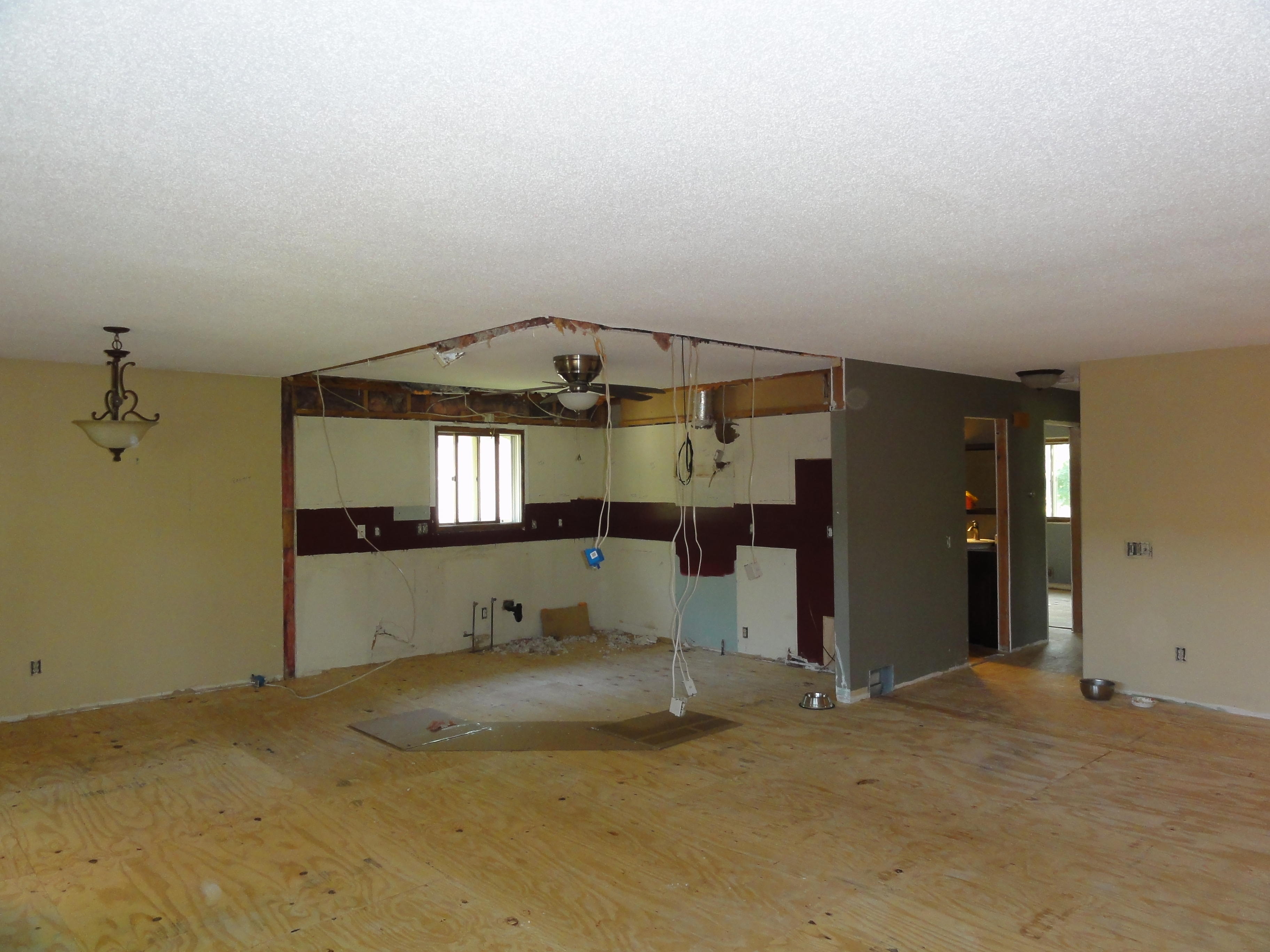 Whole House Remodel - During - Burnsville