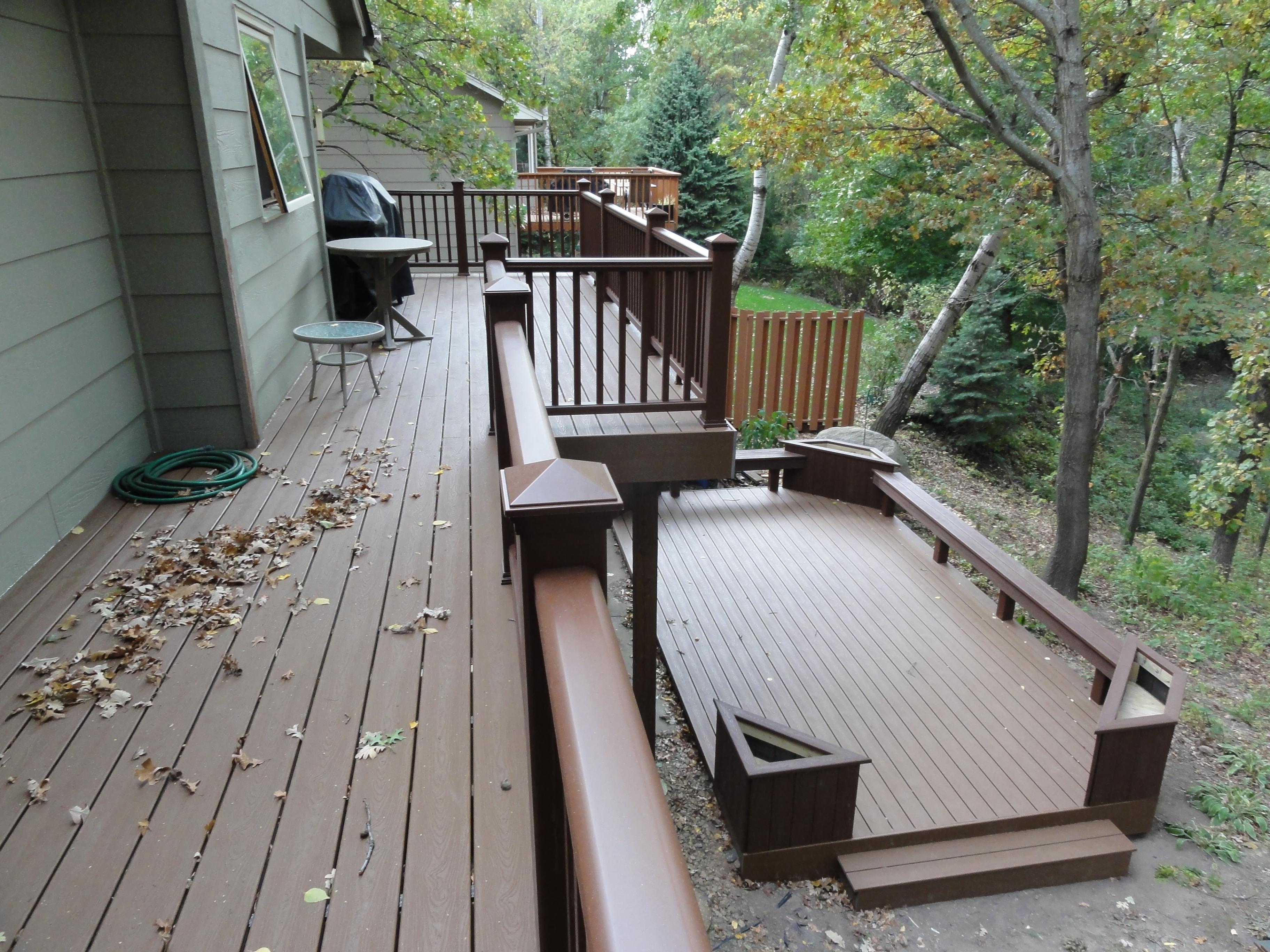 Deck - After - Lakeville