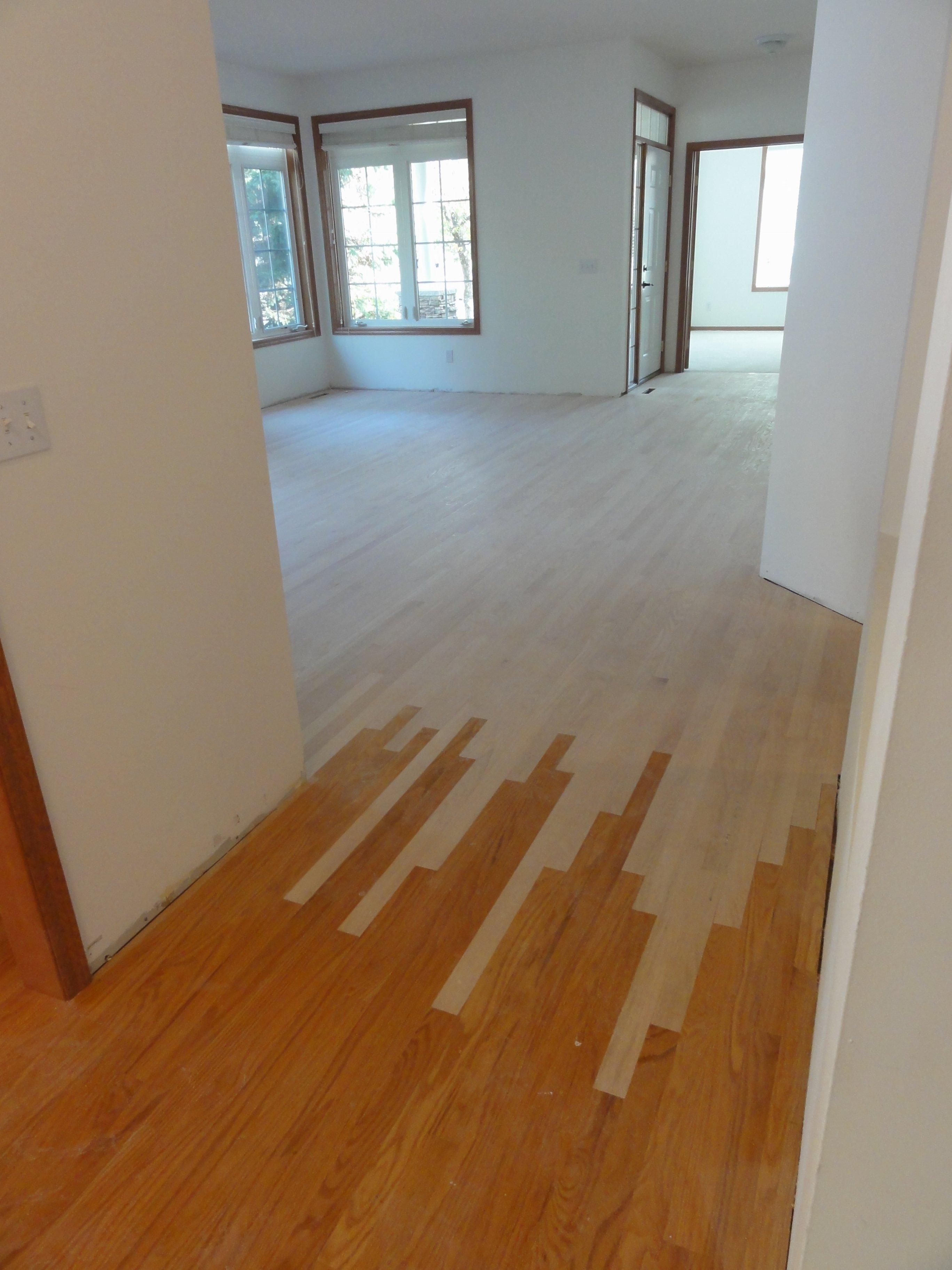 Installing Red Oak Hardwood Floor - Rosemount