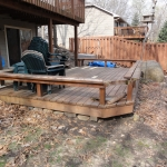 Decks - Before - Lakeville