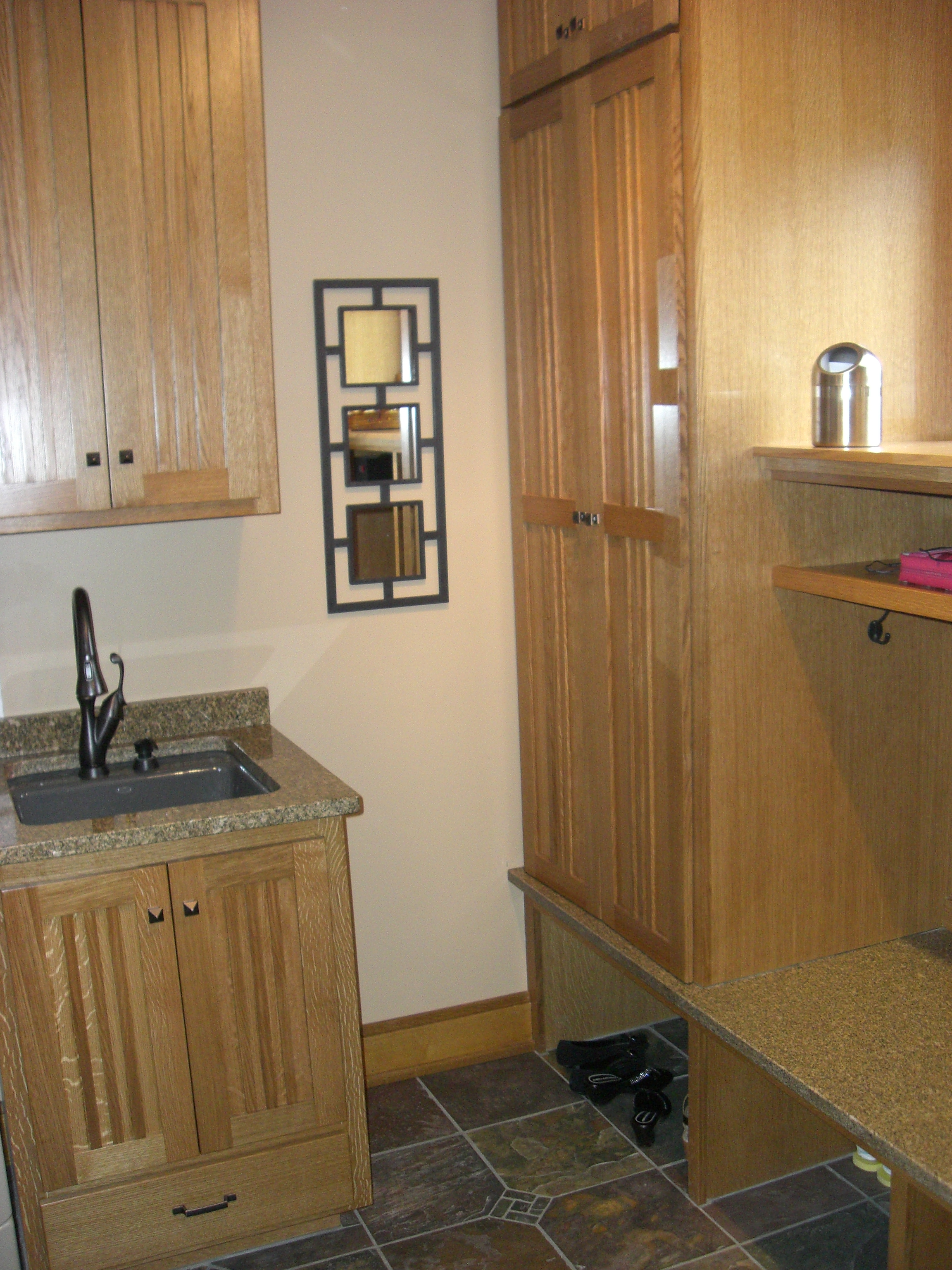 Remodeled Laundry/Mud Room - Elko New Market