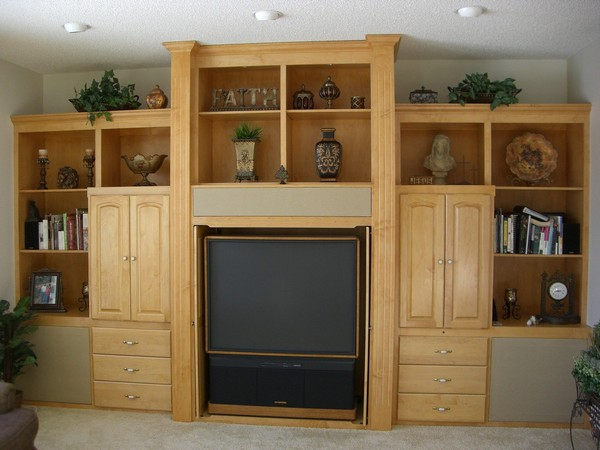 Biult and Installed Entertainment Center - Farmington