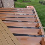 Resurfaced Deck With composite Materials, New Handrails, Trex Underdecking, and Stairs - Lakeville