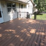 Installed Composite Decking and Metal Handrails - Eagan