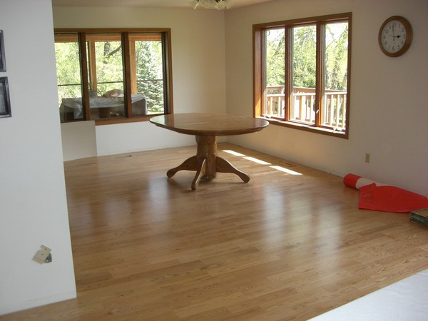 Installed Engineered Wood Flooring 1- Elko New Market