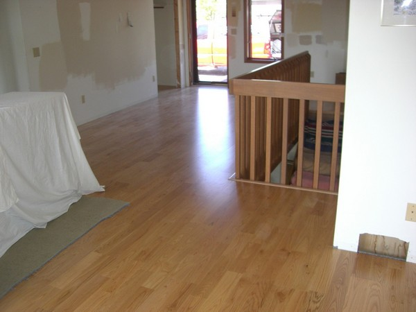 Installed Engineered Wood Flooring - Elko New Market 3