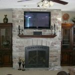 Basement Finish with Fireplace - Farmington